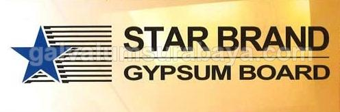 Papan Gypsum Star Brand